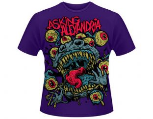 Asking Alexandria 'Eyeballs' T-Shirt